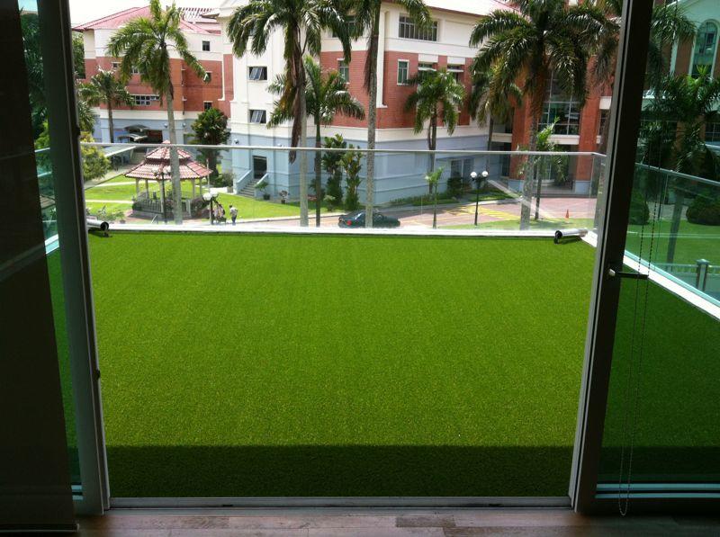 Royal Artificial Grass Malaysia Balcony Terrace Or Patio